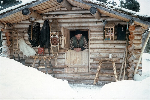 Richard Proenneke and his Cabin Alone In The Wilderness