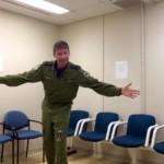 Captain Steve Barnes waiting room 4