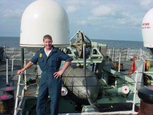 Leading Seaman Steve Barnes