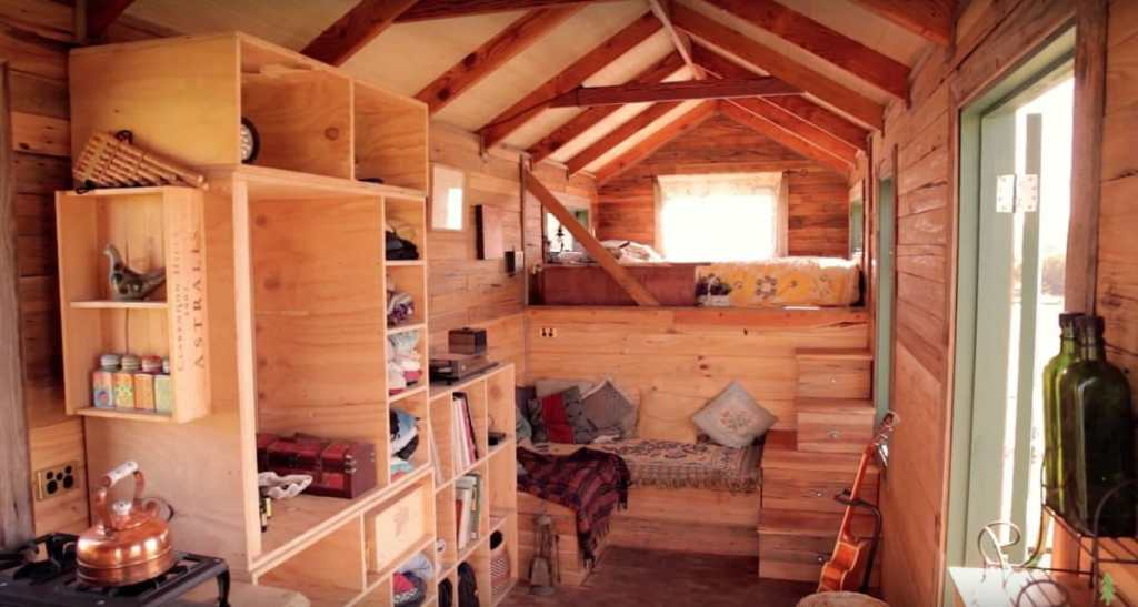 The Off Grid Handmade-House-Truck-Interior 2