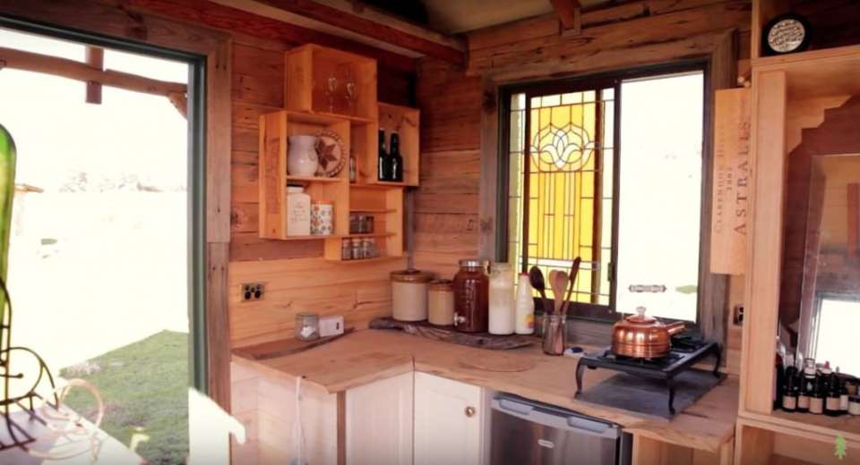 The Off Grid Handmade-House-Truck-Kitchen