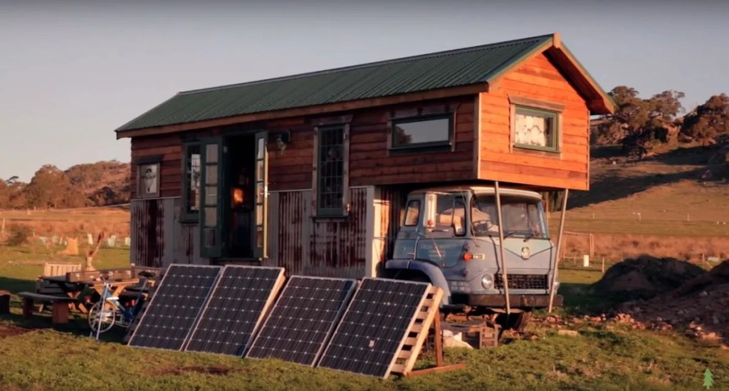 The Off Grid Handmade-House-Truck-Solar-System