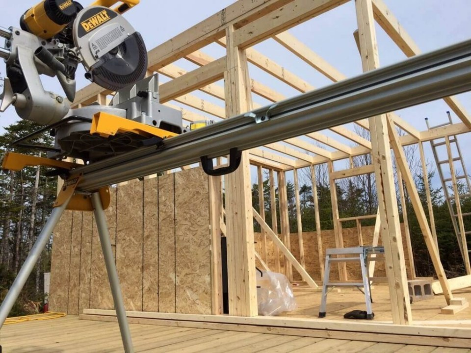 Framing The Cabin DeWalt