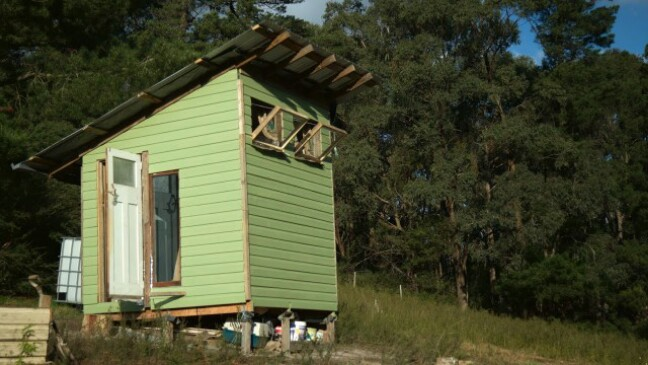 Tiny House Recycled 1