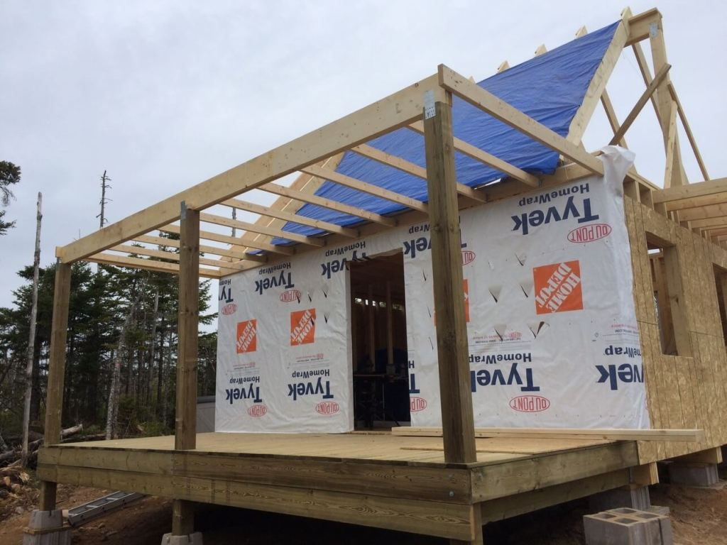 Front-Deck-Ceiling-joists-installed