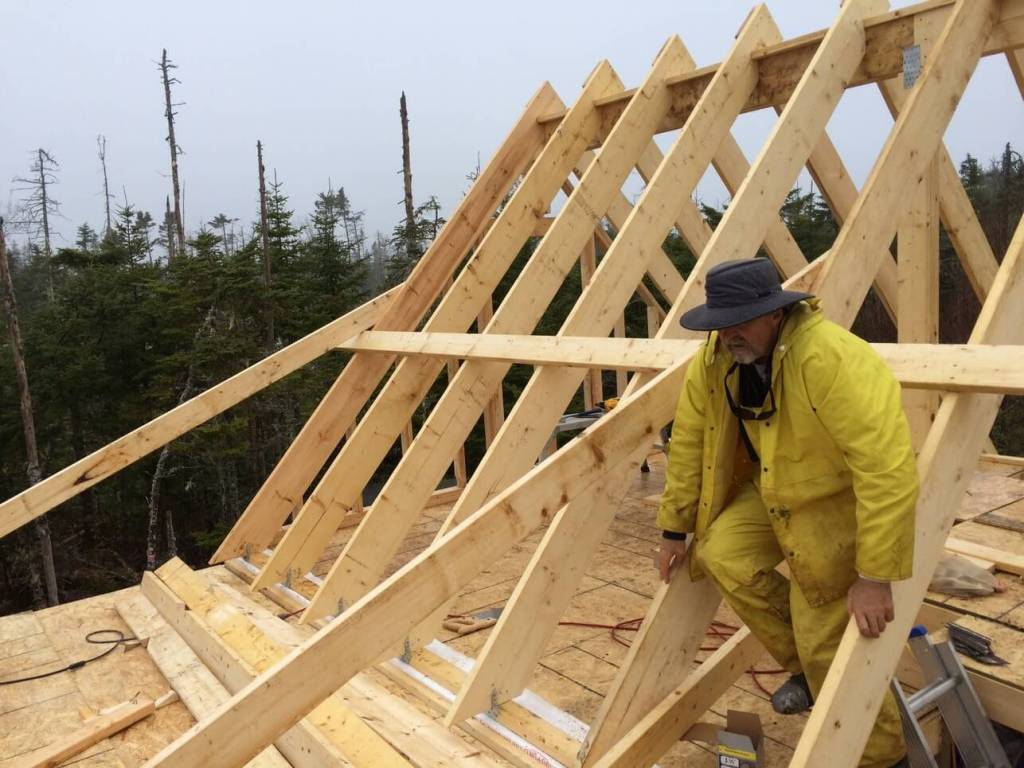 Front Deck Rafters