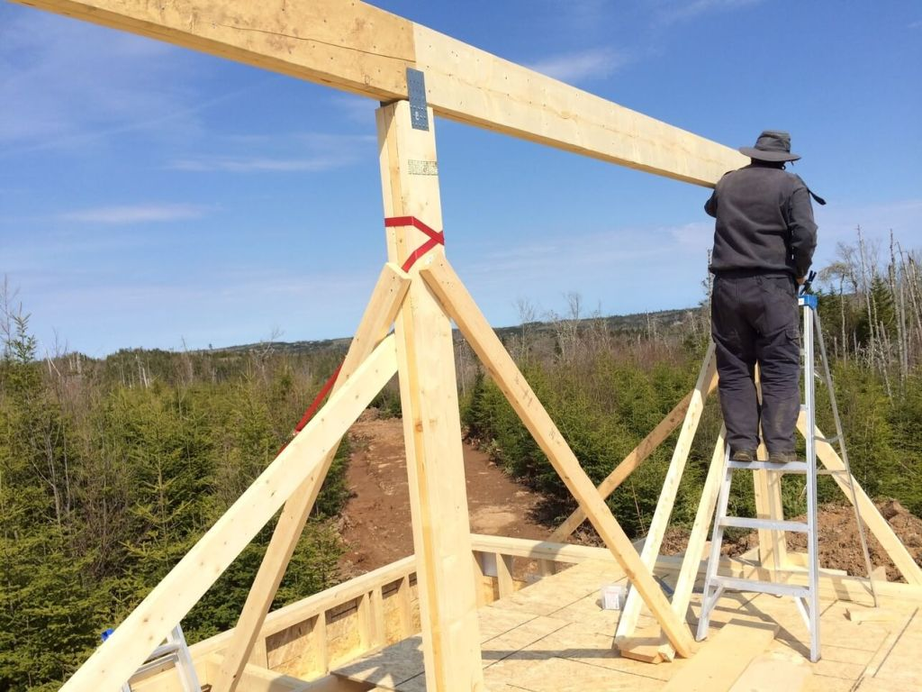 How To Build The Perfect Cabin Rafter The Off Grid Cabin
