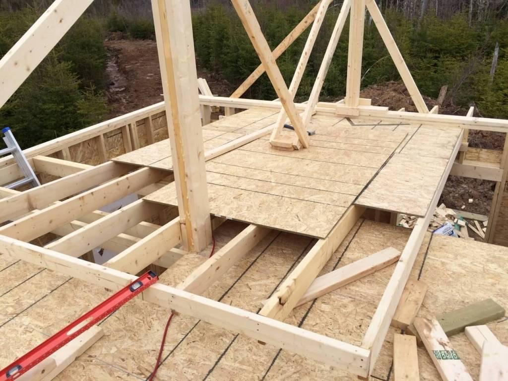 The-Off-Grid-Cabin-Roof-Ridge-Beam-Post-3