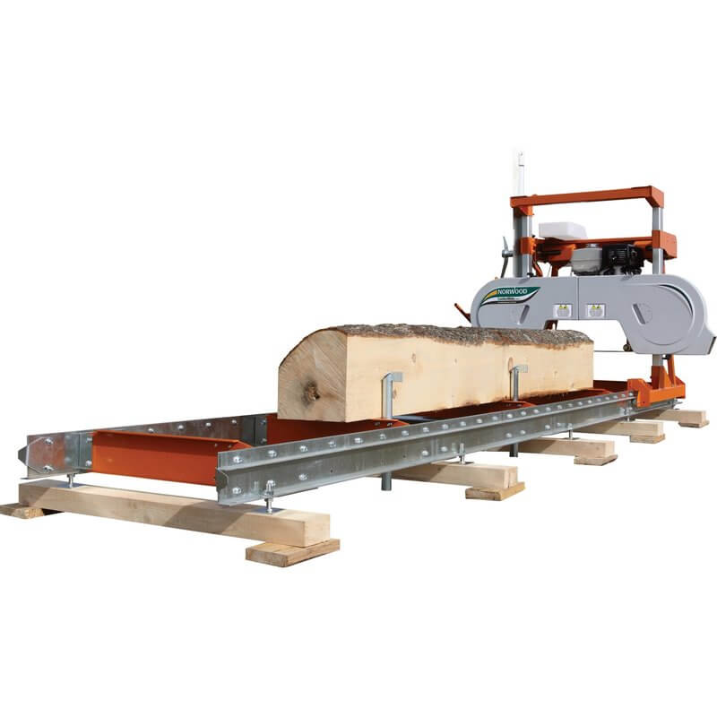 Norwood LumberMate LM29 Personal Sawmill Kohler Command Pro 429cc Engine Model LM29-0014G (1)