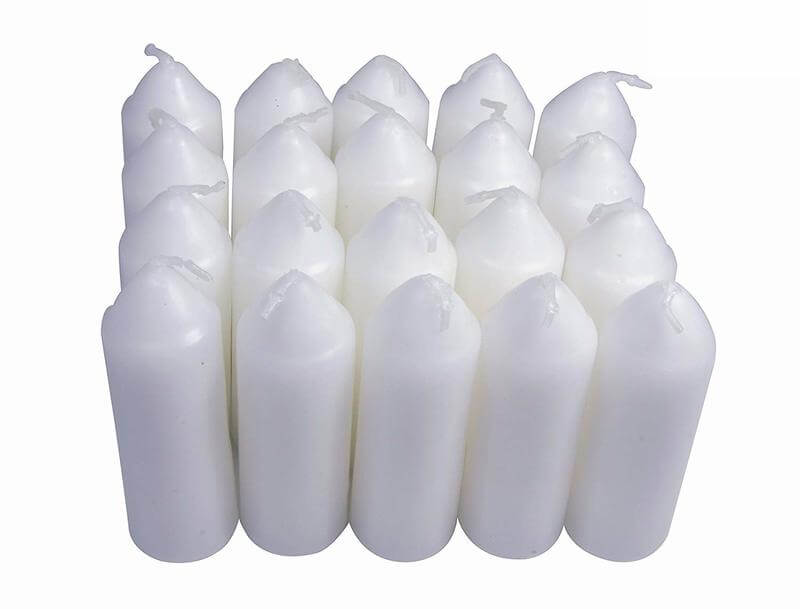 UCO 9-Hour White Candles for UCO Candle Lanterns and Emergency Preparedness