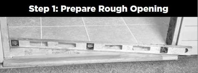 1 Door_Installation_Prepare_Rough_Opening