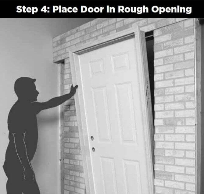 4 Door_Installation_place_door_in_rough_opening