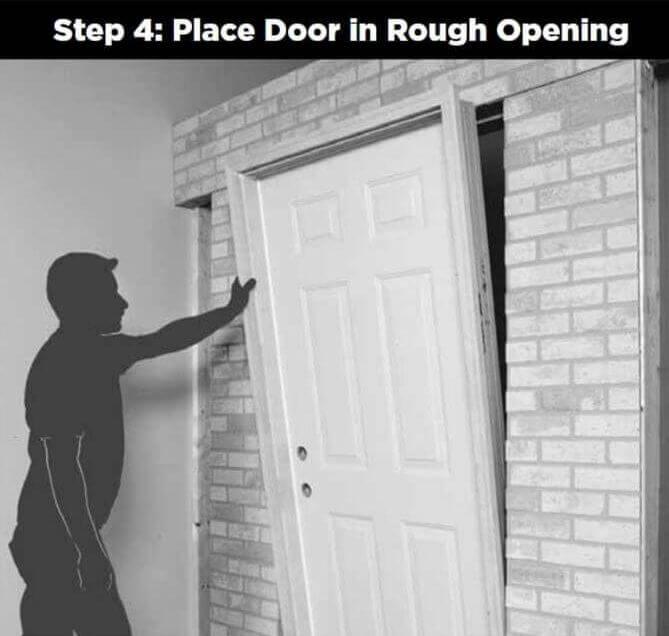 4 Door_Installation_place_door_in_rough_opening