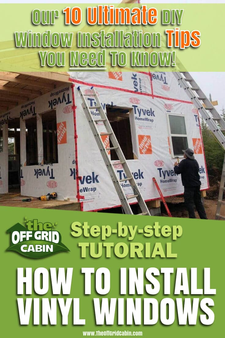 Our 10 Ultimate DIY Window Installation Tips You Need To Know Pin