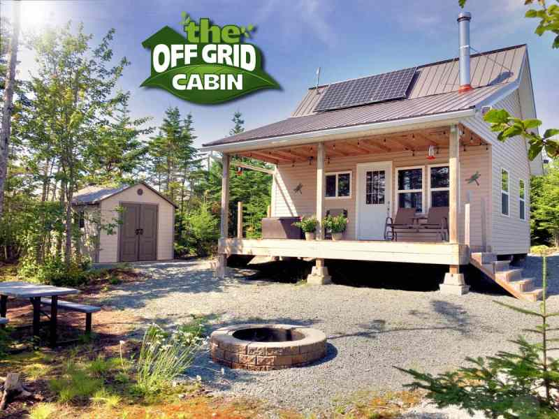 The Off Grid Cabin Facebook Image