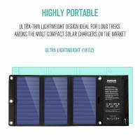 Nekteck 21W Portable Solar Panel Charger 3