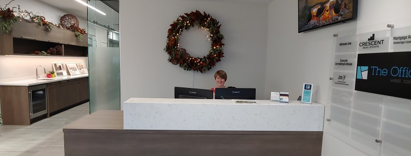 The Office reception