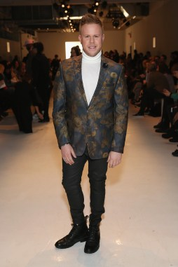 NEW YORK, NY - FEBRUARY 12: Photographer Andrew Werner attends the Marcel Ostertag collection during, New York Fashion Week: The Shows at Gallery 3, Skylight Clarkson Sq on February 12, 2017 in New York City. (Photo by Monica Schipper/Getty Images for New York Fashion Week: The Shows)