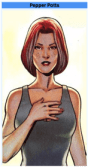 cartoon version of Pepper Potts