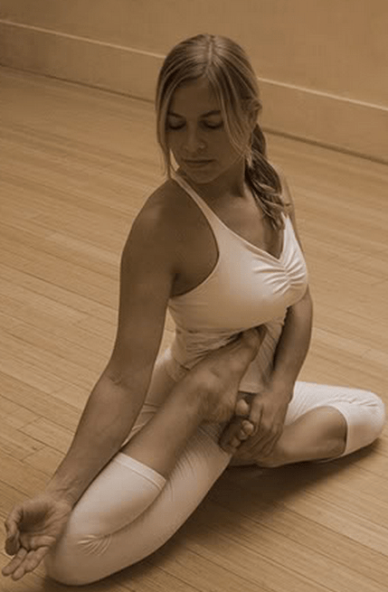 What would you talk about with a yoga girl?