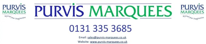 Purvis Marquees support Currie Chieftains