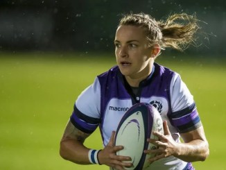 Scotland full-back Chloe Rollie.
