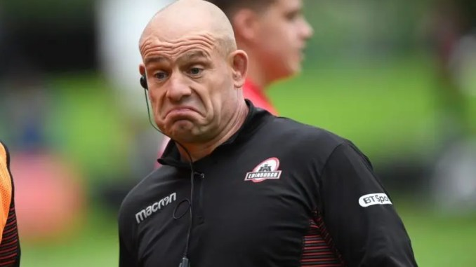 Edinburgh coach Richard Cockerill.