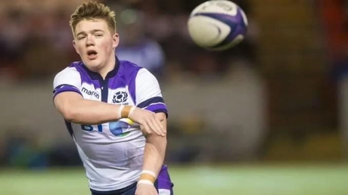 Scotland Under-20s Calum McLelland