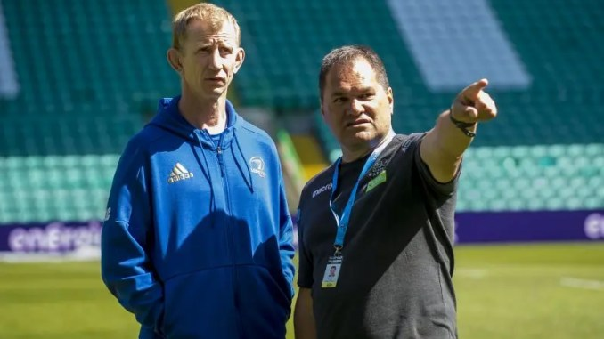 Leinster coach Leo Cullen