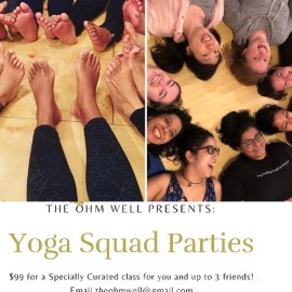 Yoga Squad Parties