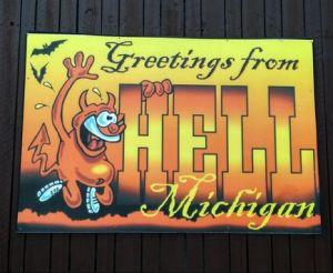 visit hell michigan