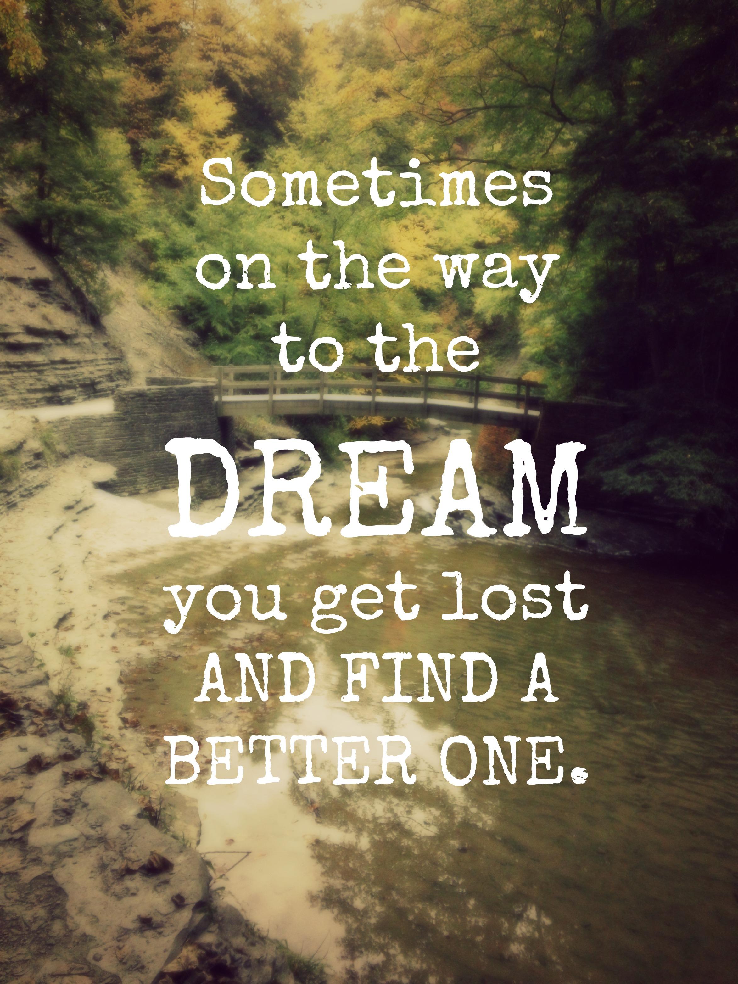 Following Dreams The Oke Den