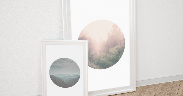 Tranquil Porthole Wall Art – Set of 4