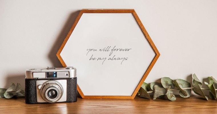 You Will Forever Be My Always Wall Art