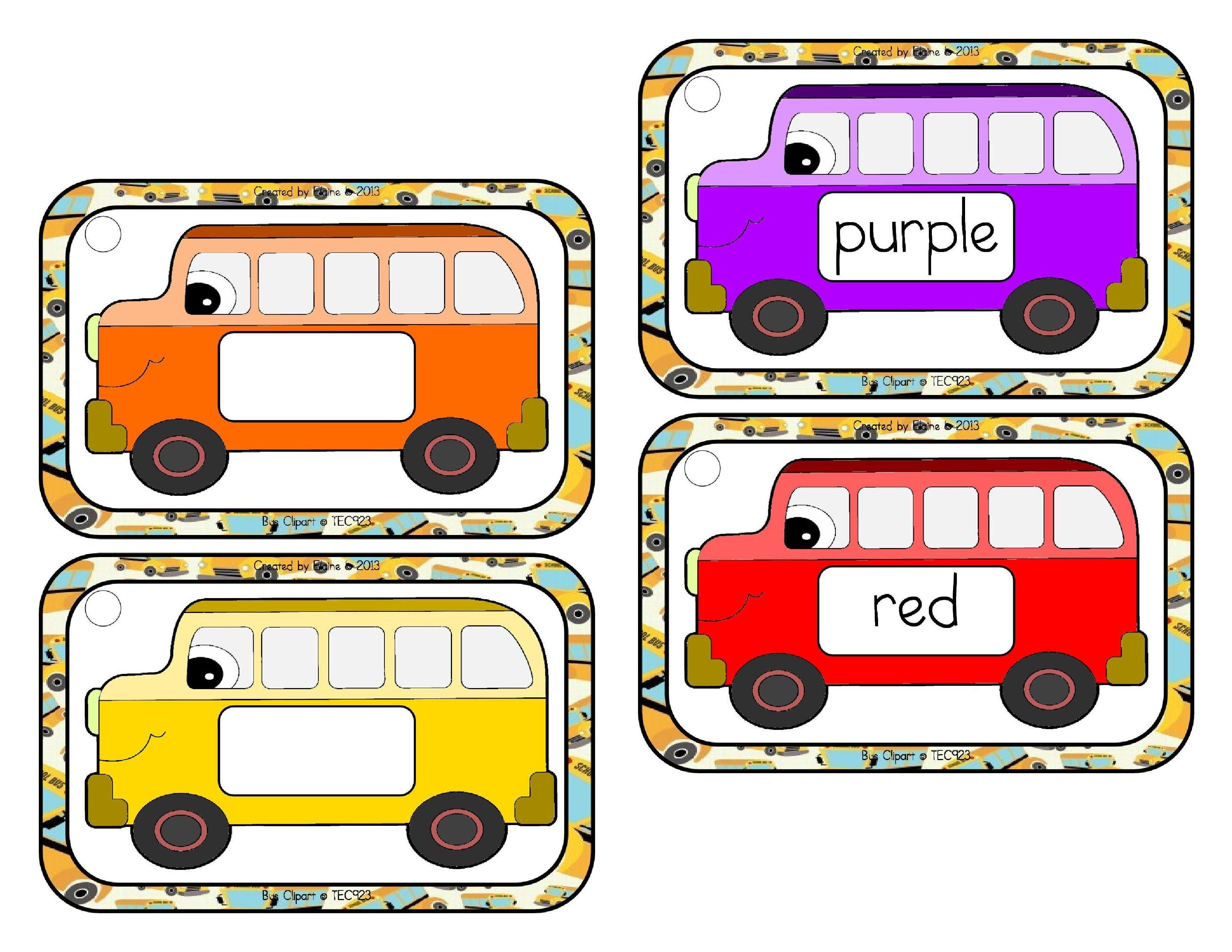 School Bus Colors The Treasured Schoolhouse