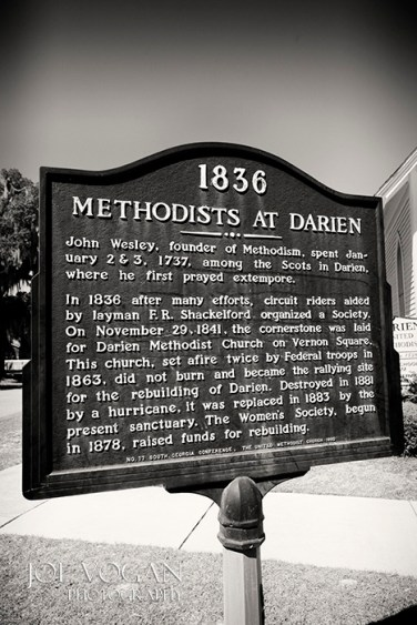 Darien Methodist Church, Darien, Georgia