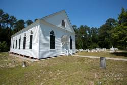Exterior and Cemetery, Mizpah Church