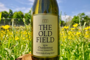 Wine Bottle, White WIne, The Old Field, 2016 Barrel Fermented Chardonnay