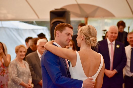 First dance as husband and wife.