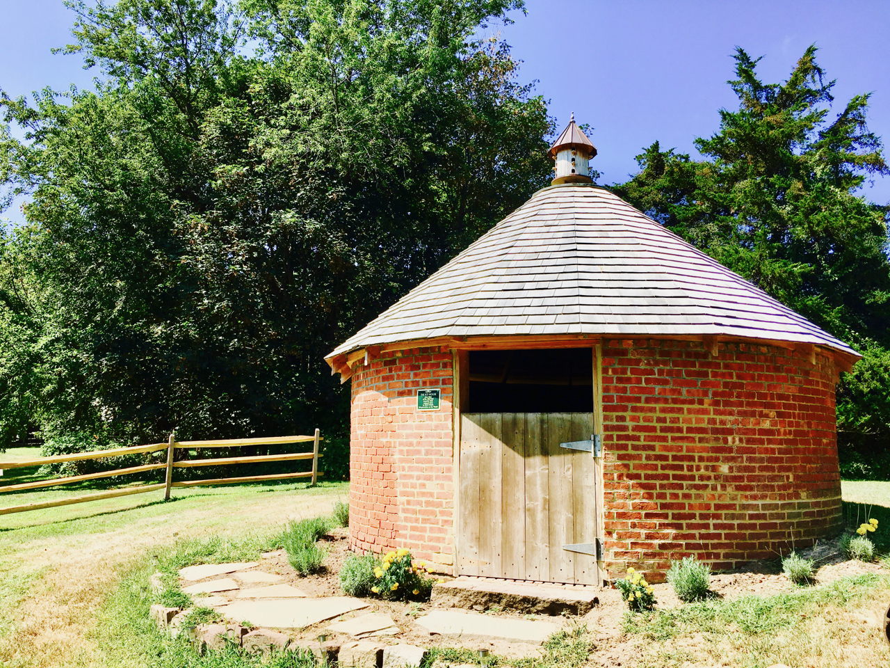Our historical Ice House building