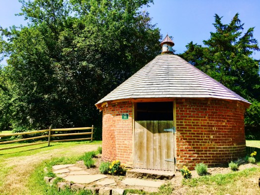 "The ""In The Round"" Ice House building."