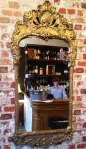 The bar at La Vinoteca