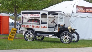 The AACA Hershey Meet Model T Ford