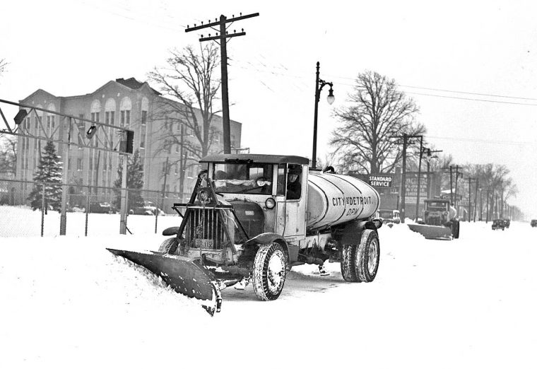 Old Snow Removal Equipment