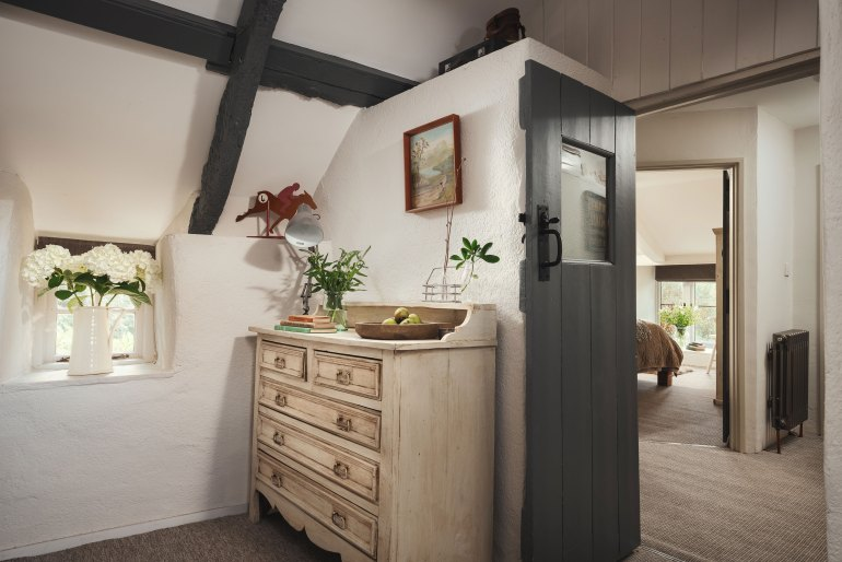The luxury holiday let comes with a small second room perfect as a nursery