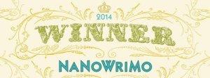 2014 NaNoWriMo Winner badge