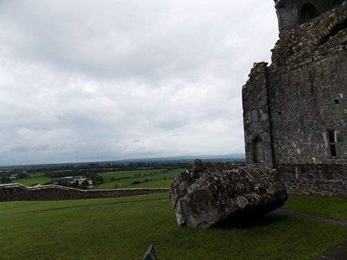 Rock of Cashel - The courtyard