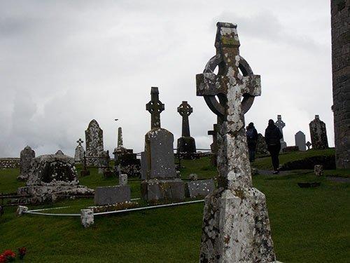 Rock of Cashel - The graveyard