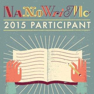 NaNo 2015 Participant Badge (Large Square)