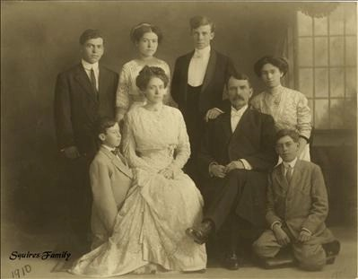 The Squires Family 1910